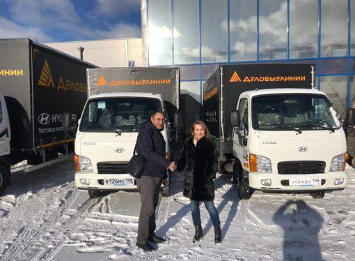 На передовой технологий: «Деловые Линии» взяли на тест-драйв новые грузовики Hyundai