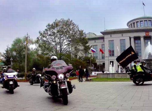 Встали на «Дорогу Дружбы»: «Деловые Линии» присоединились к мотопробегу Пекин– Санкт-Петербург