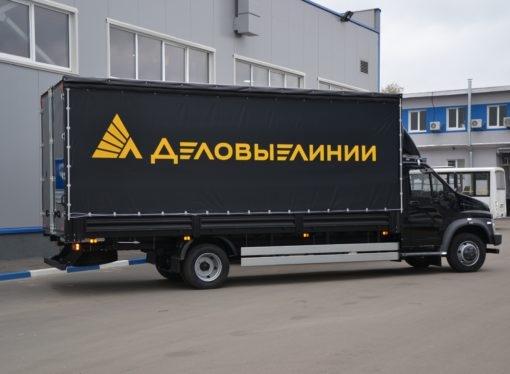 Передовые технологии в логистике: в парк «Деловых Линий» поступили новые грузовики на метане